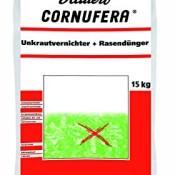 Hauert HBG Dünger 800515 Cornufera Unkrautvernichter plus Rasendünger 15 kg für 500 m²