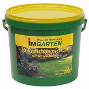 Beckmann im Garten 968805 Unkrautvernichter plus Rasendünger 5 kg